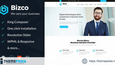 Bizco – Business Consulting and Professional Services WordPress Theme [Free download]