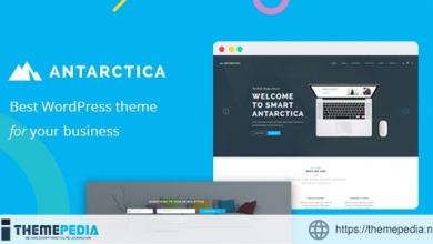Antarctica – Business Portfolio WordPress Theme [Free download]