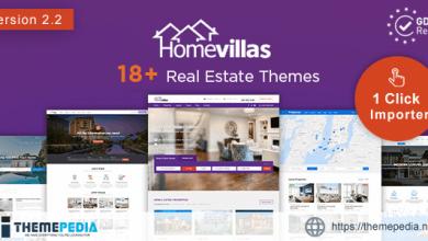 Home Villas – Real Estate WordPress Theme [Free download]