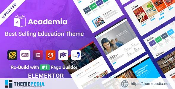 Academia – Education WordPress Theme [Free download]
