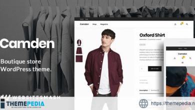 Camden – Boutique Store WordPress Theme [Updated Version]
