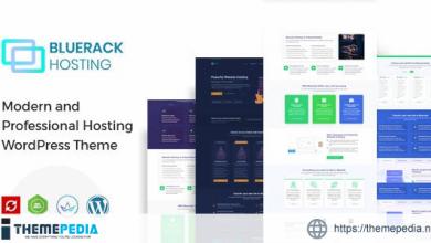Bluerack – Modern Hosting WordPress Theme with WHMCS [Latest Version]