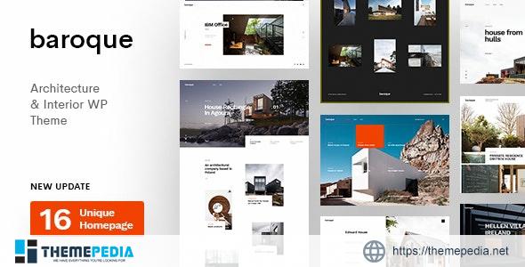 Baroque – Architecture & Interior WordPress Theme [Updated Version]