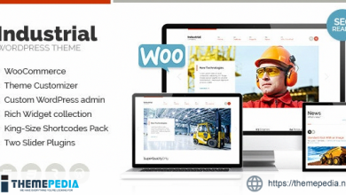 Industrial – Multi-Purpose Responsive WP Theme [Free download]