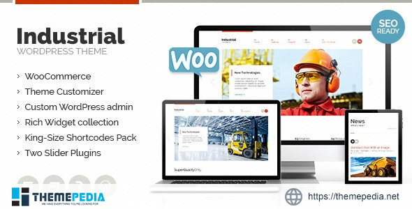 Industrial – Multi-Purpose Responsive WP Theme [Free download]