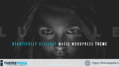 Lucille – Music WordPress Theme [nulled]