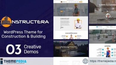 Constructera – Construction & Business WordPress Theme [Free download]