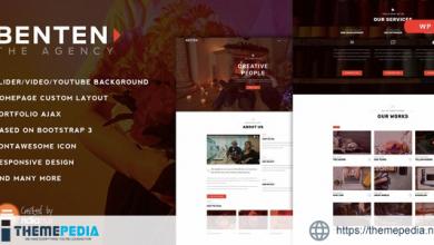Benten – Responsive One Page Portfolio Theme [nulled]