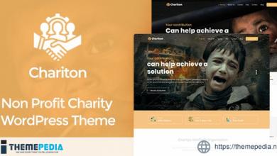 Chariton – NonProfit Fundraising Charity WordPress Theme [Free download]