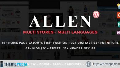 Allen – Multipurpose Responsive WooCommerce Theme [Free download]