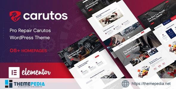 Carutos – Car Services WordPress Theme [Free download]