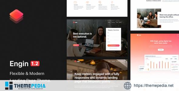 Engin – Multipurpose Landing Page WordPress Theme [Updated Version]