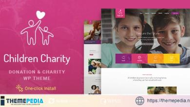 Children Charity – Nonprofit & NGO WordPress Theme [Free download]