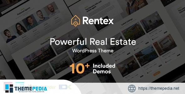 Rentex – Real Estate WordPress Theme [Free download]