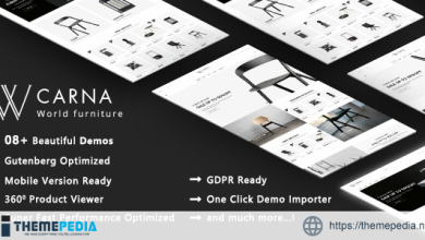 Carna – Luxury Furniture WooCommerce WordPress Theme [Free download]