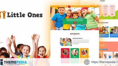 Little Ones – One Page Children-Daycare WordPress Theme [Updated Version]