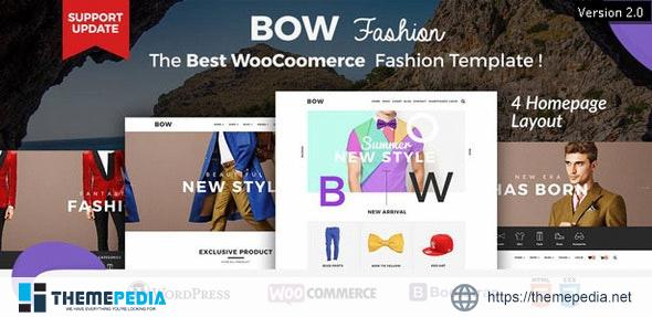 Bow – Responsive Wordpress Woocommerce Theme [Free download]