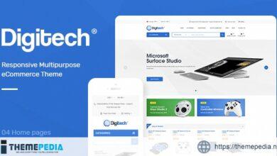 Digitech – Technology Theme for WooCommerce WordPress [Updated Version]