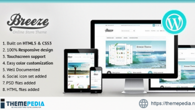 Breeze — Responsive WooCommerce Theme [Free download]