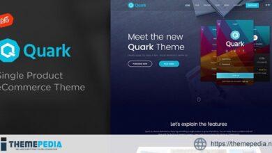 Quark – Single Product eCommerce Theme [Latest Version]