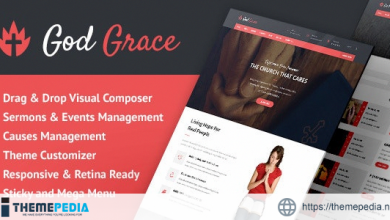 God Grace- Church WordPress Theme [nulled]
