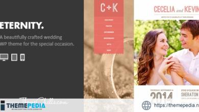 Eternity – Responsive Wedding WordPress Theme [Updated Version]