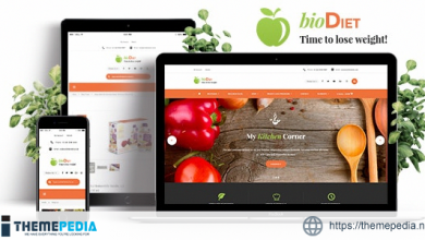 BioDiet – Nutrition & Weight Loss WordPress Theme [Updated Version]