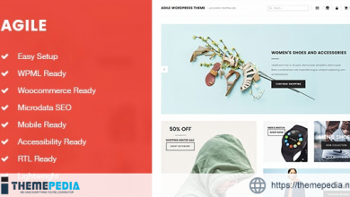 Agile Lightweight Blogging and Shopping WordPress Theme [Free download]