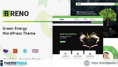 Breno – Green Energy WordPress Theme [Updated Version]