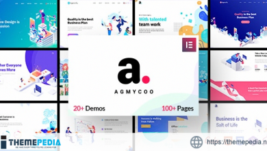 Agmycoo – Isometric Startup Creative Digital Agency WordPress Theme [Free download]