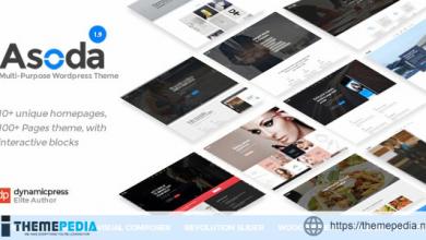 Asoda – A Multipurpose WordPress Theme [Free download]