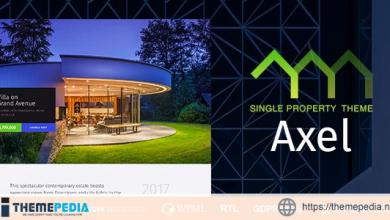 Axel – Single Property Real Estate Theme [Free download]