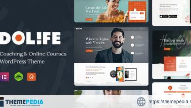 Dolife – Coaching & Online Courses WordPress Theme [Free download]