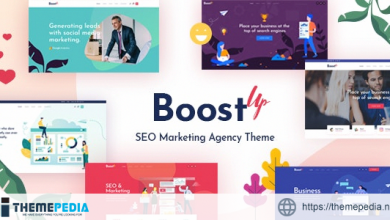 BoostUp – SEO Marketing Agency Theme [Free download]