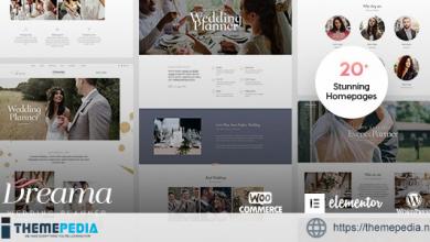 Dreama – Engagement & Wedding Planner WordPress Theme [nulled]