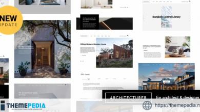 Architecturer WordPress for Interior Designer [Updated Version]