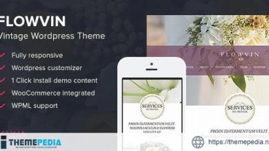 FlowVin – Vintage Flower Shop WordPress Theme [Updated Version]