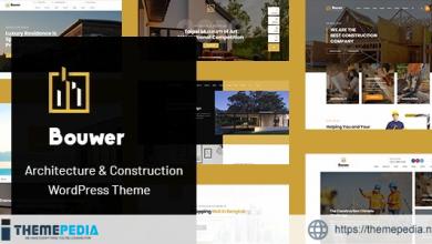 Bouwer – Architecture & Construction WordPress Theme [Updated Version]