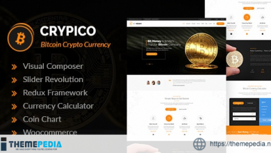 Crypico – Crypto Currency WordPress Theme [Free download]