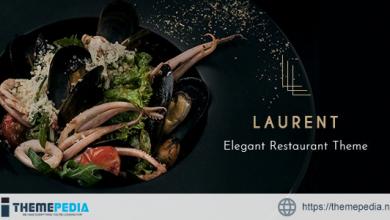 Laurent – Elegant Restaurant Theme [Free download]