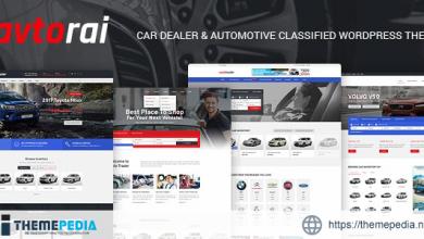 Avtorai- Car Dealer & Automotive Classified WordPress Theme [Free download]