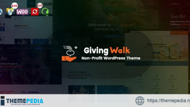 GivingWalk – Multipurpose Nonprofit WordPress Theme [Free download]