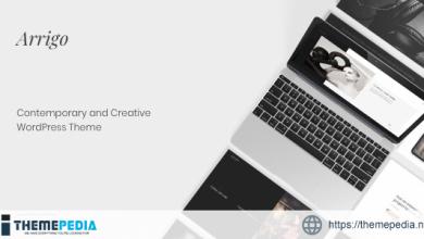 Arrigo – Contemporary Creative Portfolio Elementor WordPress Theme [Free download]