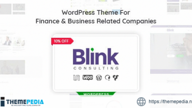 Blink – Finance and Accounts Business WordPress Theme [Free download]