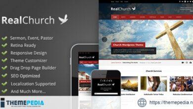 Real Church – Responsive Retina Ready Theme [Free download]