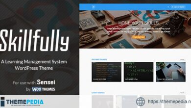 Skillfully – A Learning Management System (LMS) Theme [Free download]