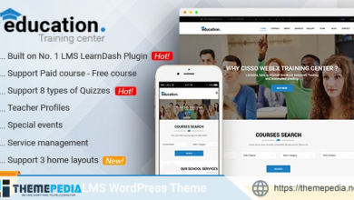 Education – LMS Responsive WordPress Theme [Updated Version]