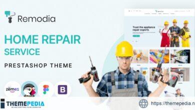 Remodia – Home Repair Service PrestaShop Theme [Updated Version]