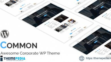 Common- One Page and Multipages WordPress Theme [Latest Version]