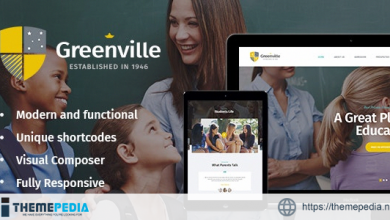 Greenville – A Private School & University Education WordPress Theme [nulled]